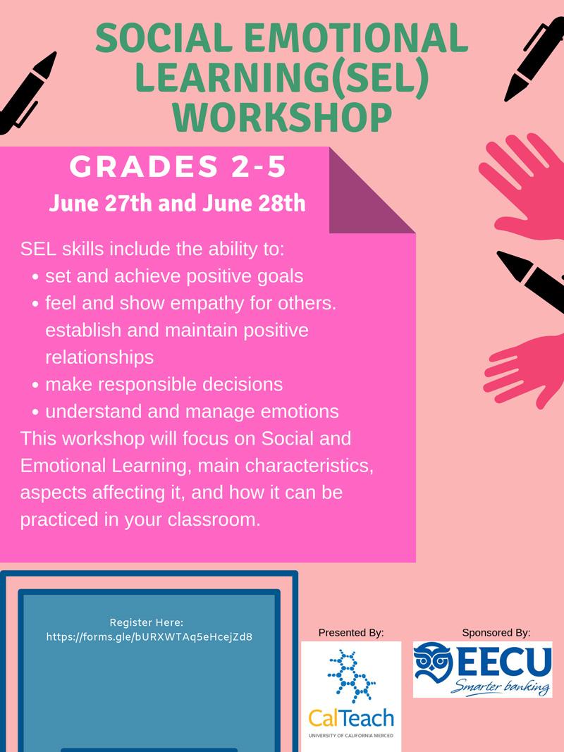 Social Emotional Learning (SEL) Workshop