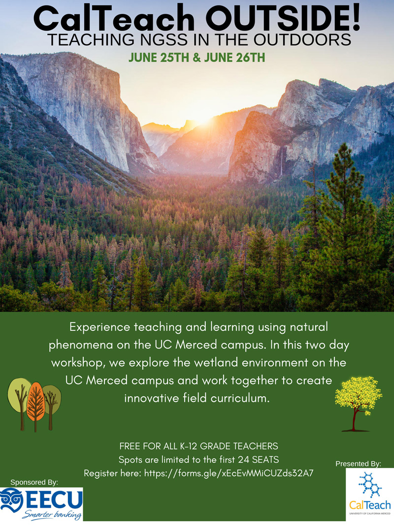 Teaching NGSS In The Outdoors