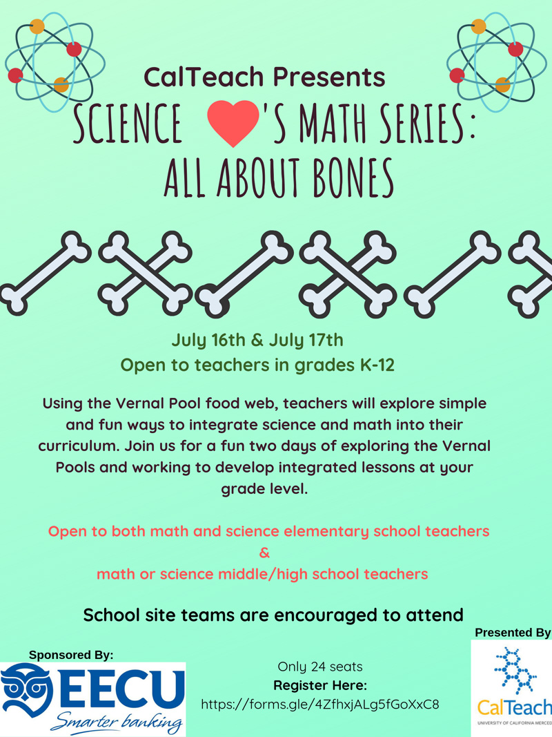 Science Loves Math Series: All About Bones